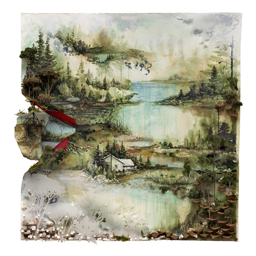 Image result for bon iver album cover